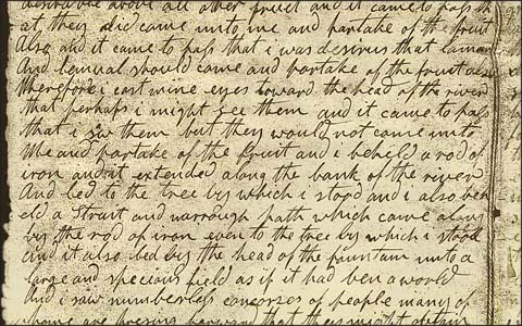 Image result for book of mormon manuscript