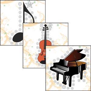 music practice charts
